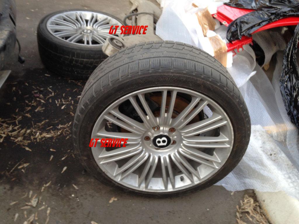 неоригинальные колесные диски на бентли
